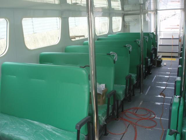 広島世界遺産航路船 さくら キャビン